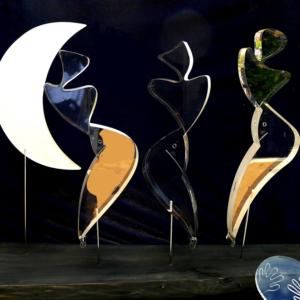 galleria-arte-michelangelo-del-brocco-mikala-opere-contemporanee-scultura-artista-plexiglass-moderno-italiano- opera-valore-collezione-collezionisti-danza-chiarodiluna-al-chiaro-luna