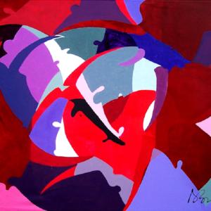 galleria-arte-michelangelo-del-brocco-mikala-opere-contemporanee-scultura-pittura-artista-quadro-moderno-tela-olio-acrilico-artista-italiano-quadro-opera-valore-collezione-collezionisti-tori-rossi-e-blu